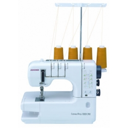 Used Janome 1000cpx coverstitch