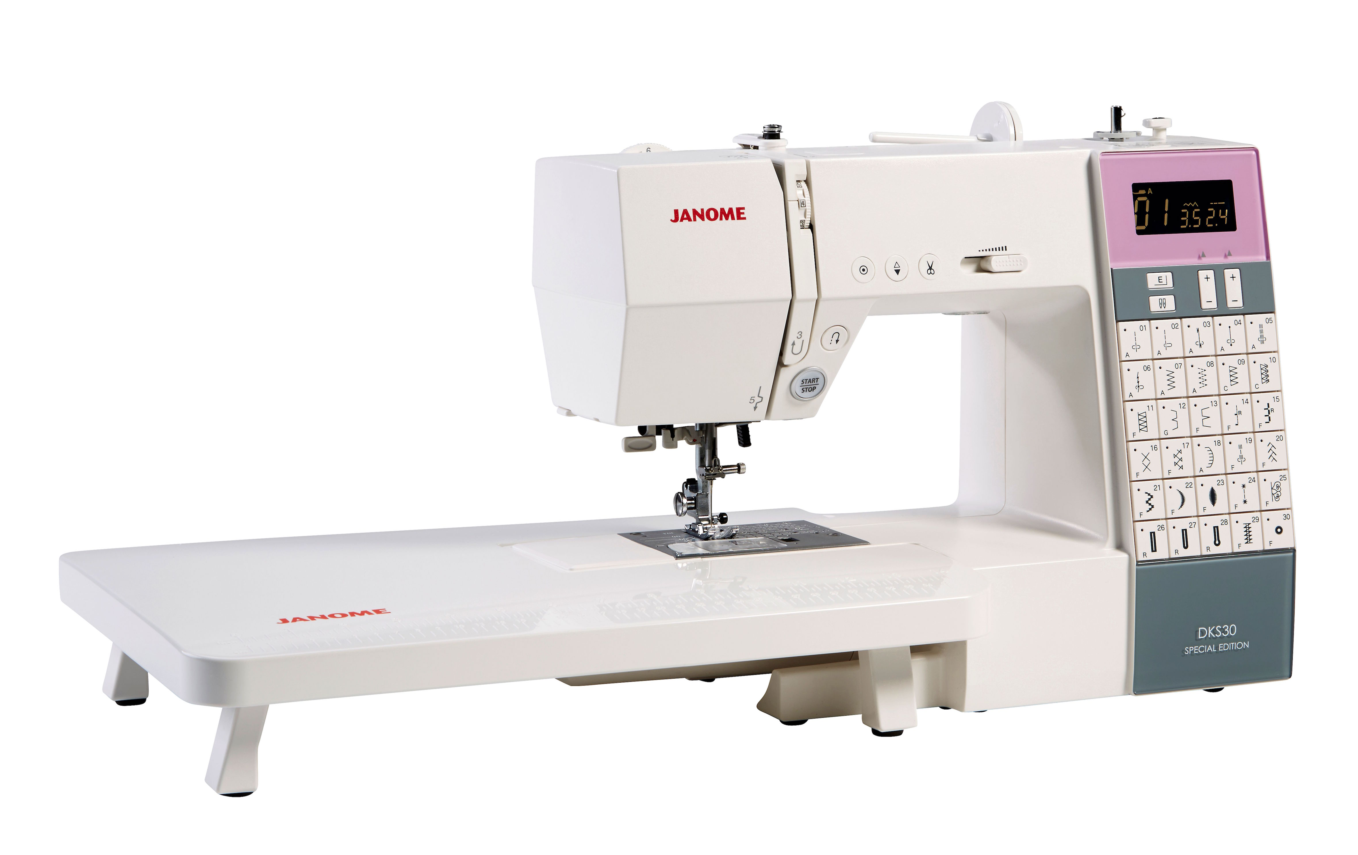 Janome extension table