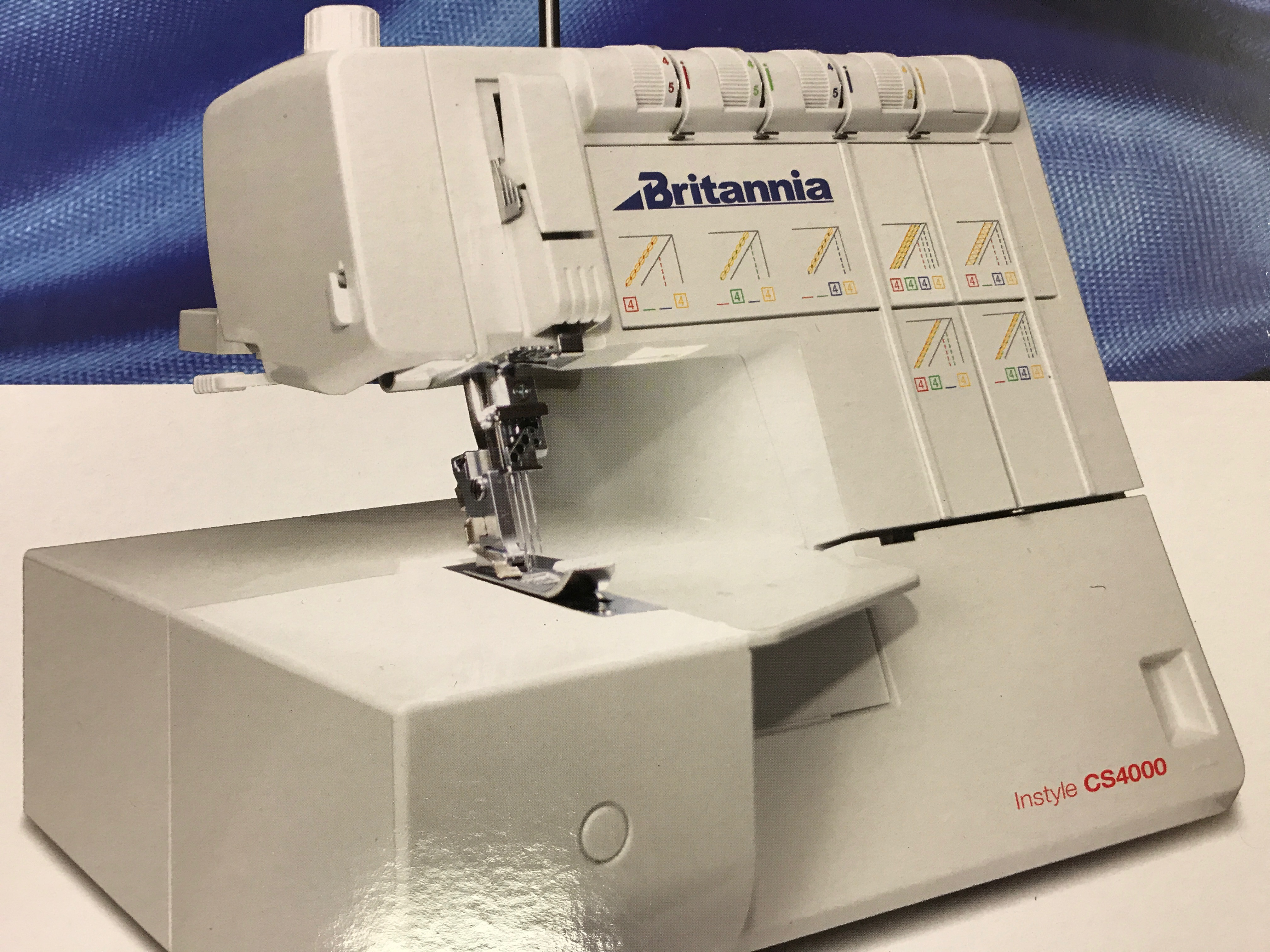 Britannia Coverstitch CS4000 plus