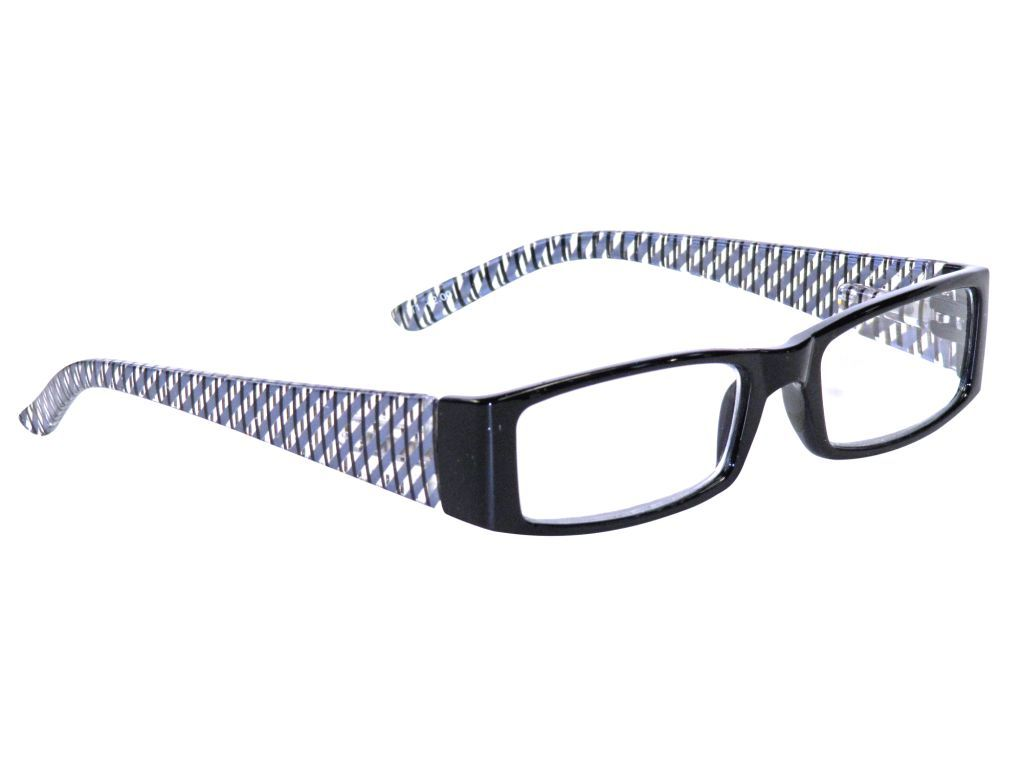 Clere vision reading glasses Lattice black