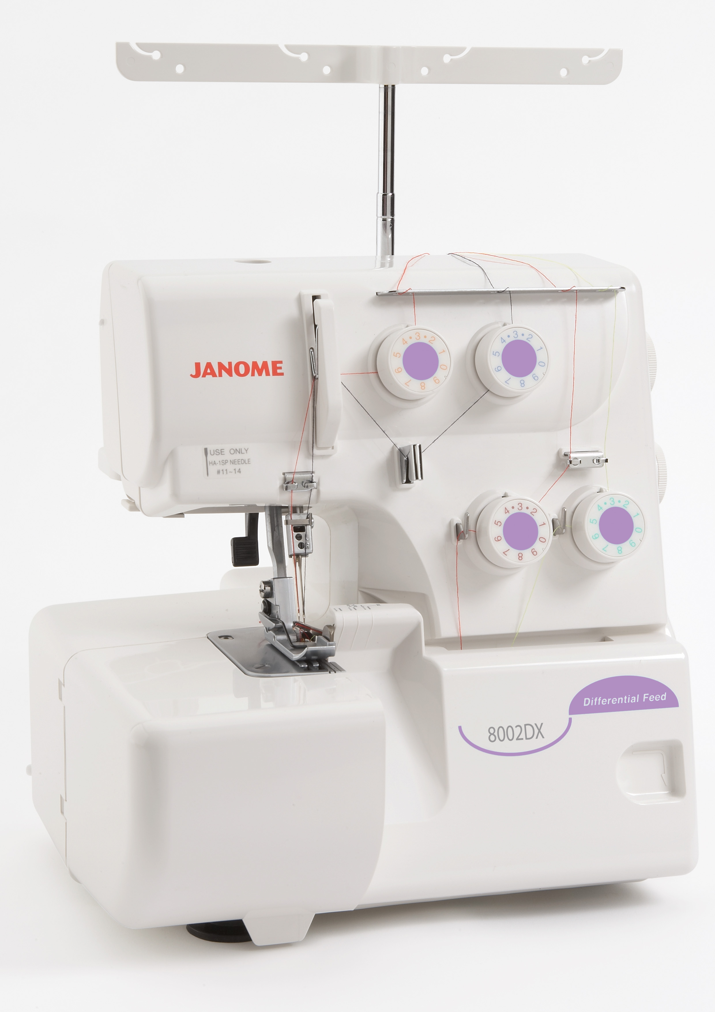 Janome 8002DX and DG
